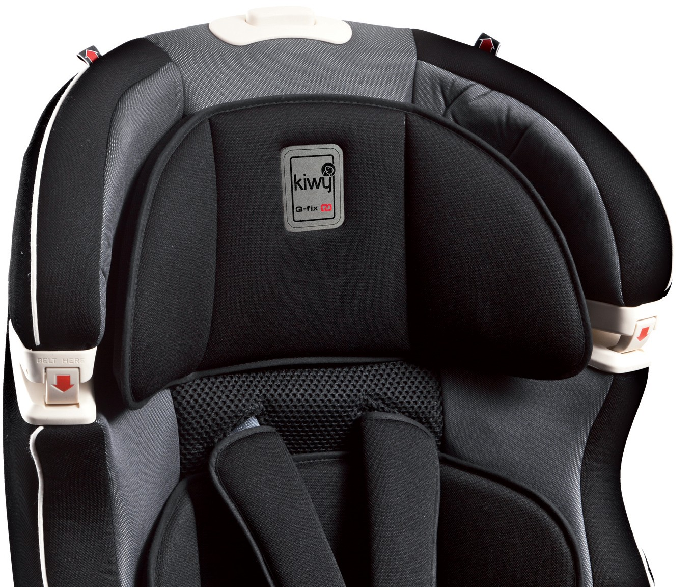 babytop24 kiwy autositz slf123 mit q fix adapter f r isofix carbon. Black Bedroom Furniture Sets. Home Design Ideas