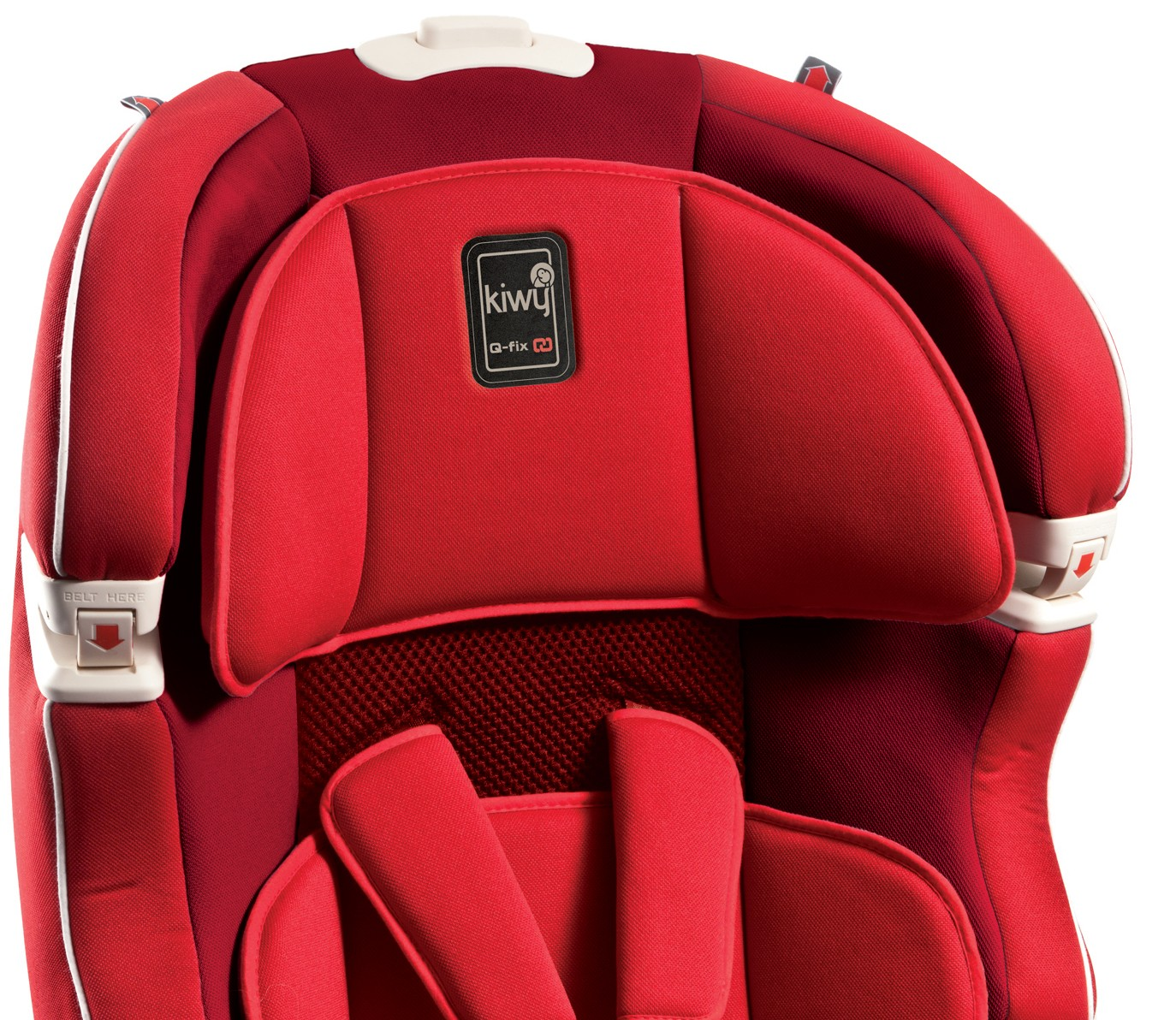 babytop24 kiwy autositz slf123 mit q fix adapter f r isofix cherry. Black Bedroom Furniture Sets. Home Design Ideas