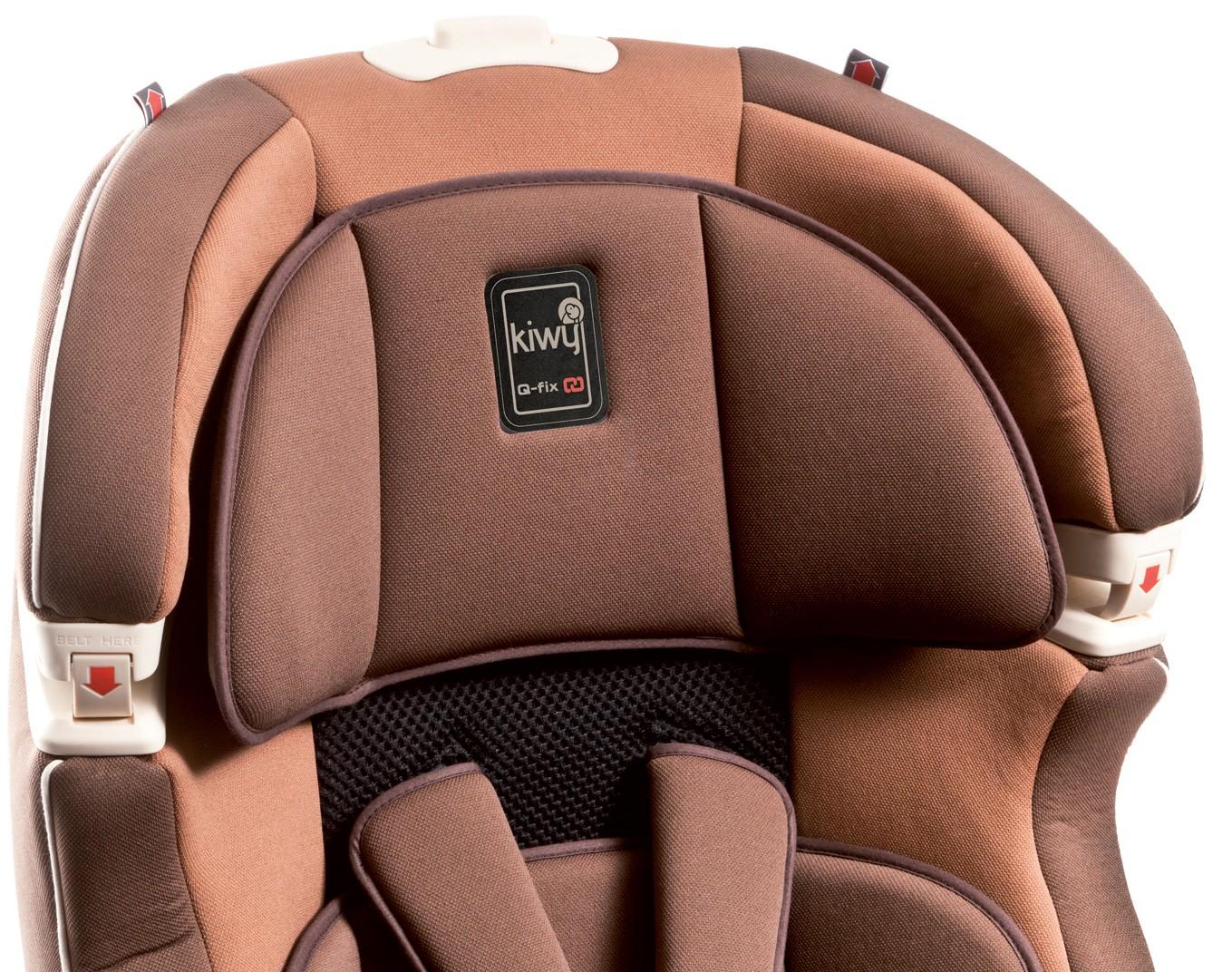 babytop24 kiwy autositz slf123 mit q fix adapter f r isofix moka. Black Bedroom Furniture Sets. Home Design Ideas