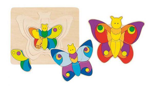 goki Schichtenpuzzle Schmetterling Schmetterling p89257899